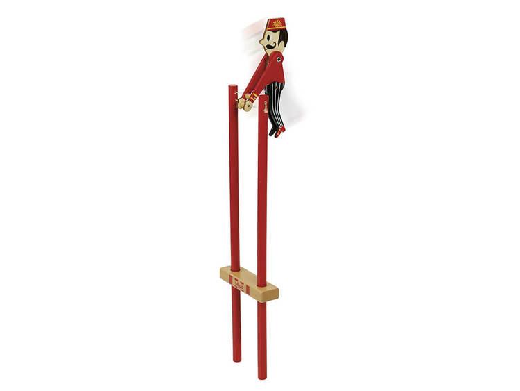 Akrobatklämmor av Ingela P. Arrhenius, Vilac - Biljettförsäljare