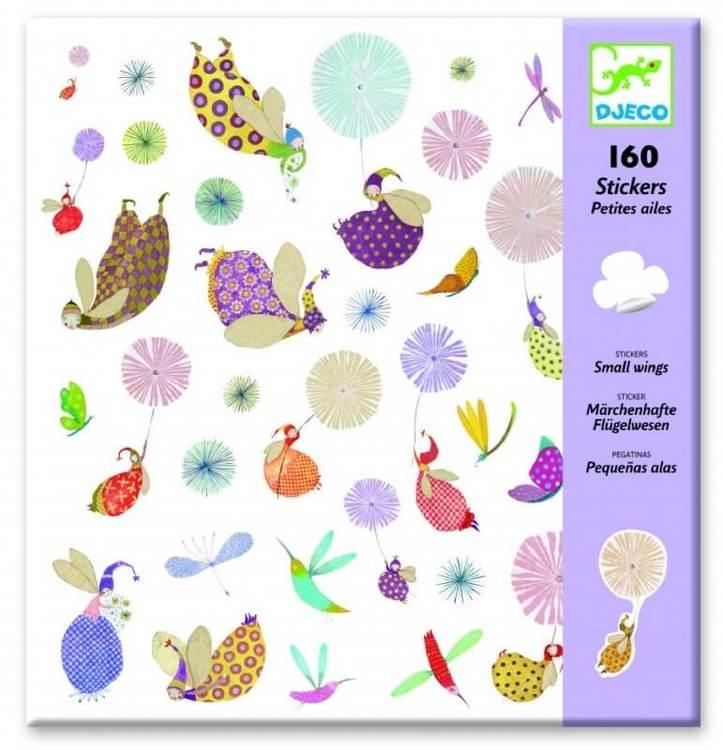 Stickers, small wings från Djeco klistermärken