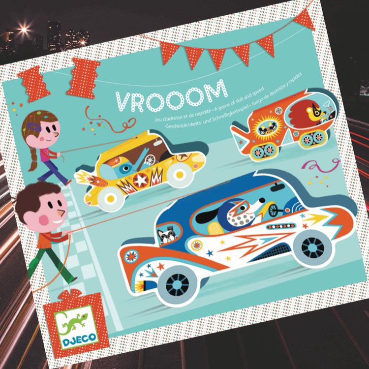 Vrooom - Tävling med bilar