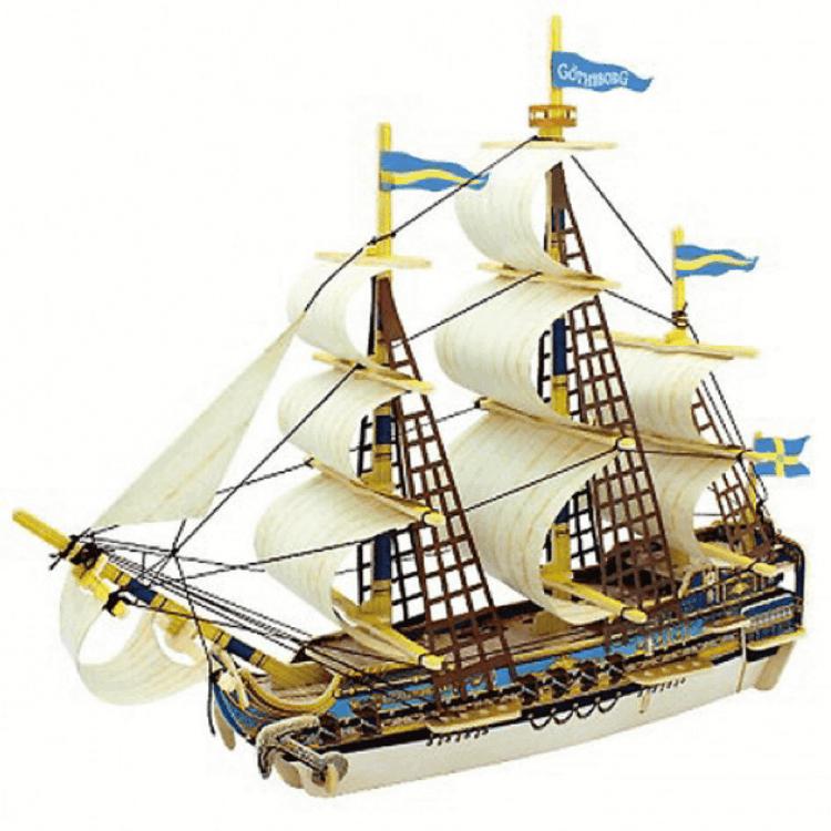 Byggsats - Skeppet 'Göteborg'