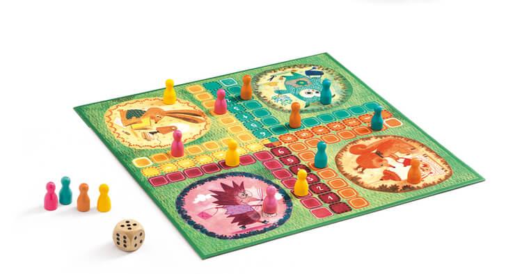 Ludo Game, Fia med knuff från Djeco