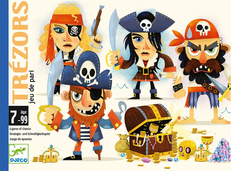 Trézors -Spel om pirater och skatter från Djeco