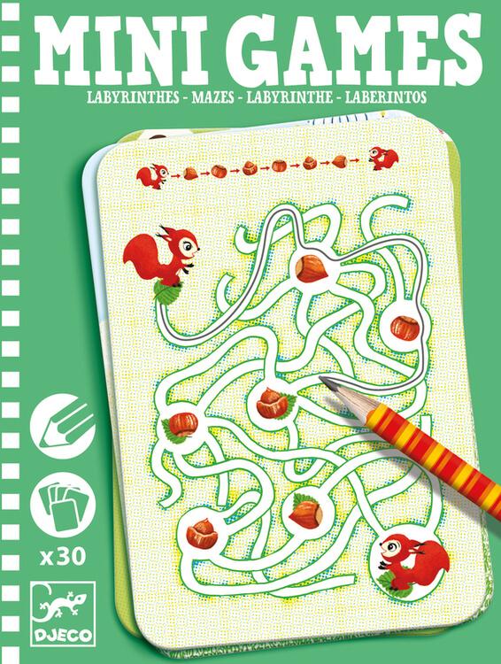 Mini Games (Spela själv) - Labyrinter från Djeco