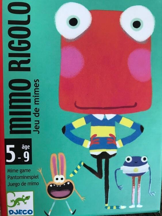 Mimo Rigolo - Spelet där du ska härma monstrets rörelser