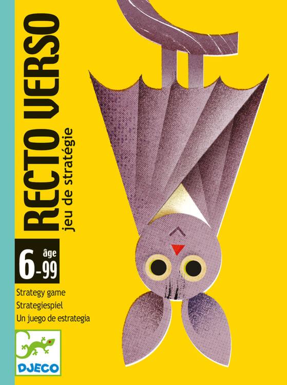 Recto Verso - Kortspelet med två sidor från Djeco