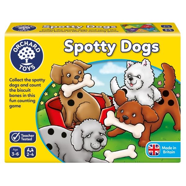 Spotty Dogs - Spelet som lär dig räkna från Ochard Toys