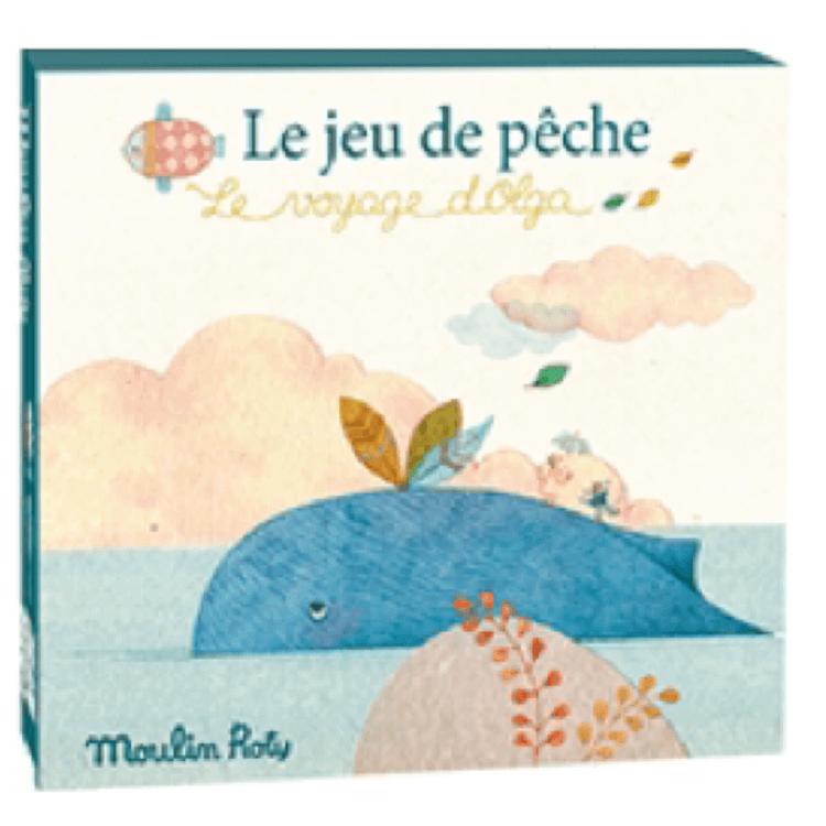 Fiskespel 'Le Voyage d'Olga' från Moulin Roty