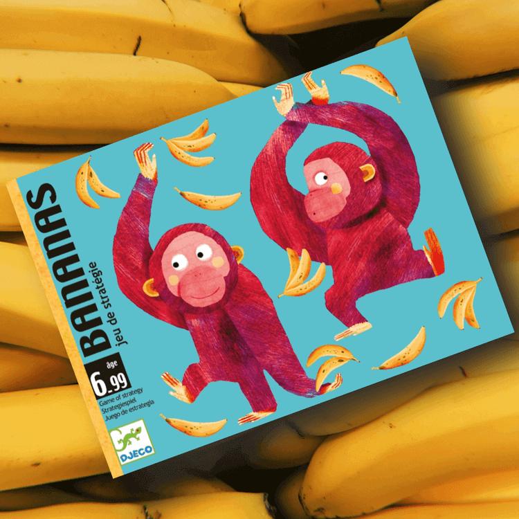 Bananas - Kortspel med apor från Djeco