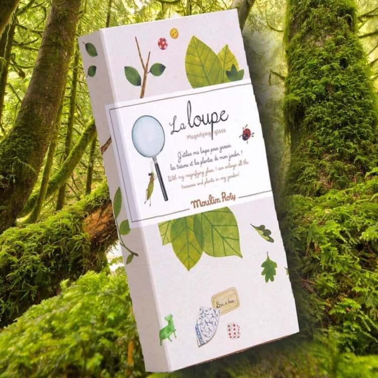 Förstoringsglas -'Le Jardin'- Titta nära på naturen eller lek detektiv