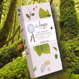 Ut och upptäck naturen - Förstoringsglas -'Le Jardin' från Moulin Roty