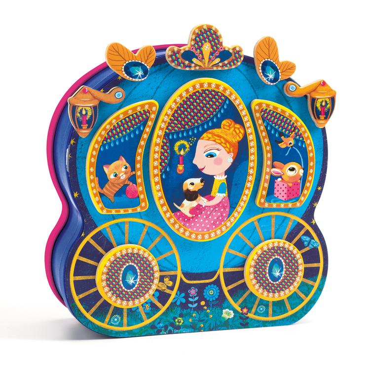 Dekorera vagnen (Magnetic games, Carossimo) från Djeco