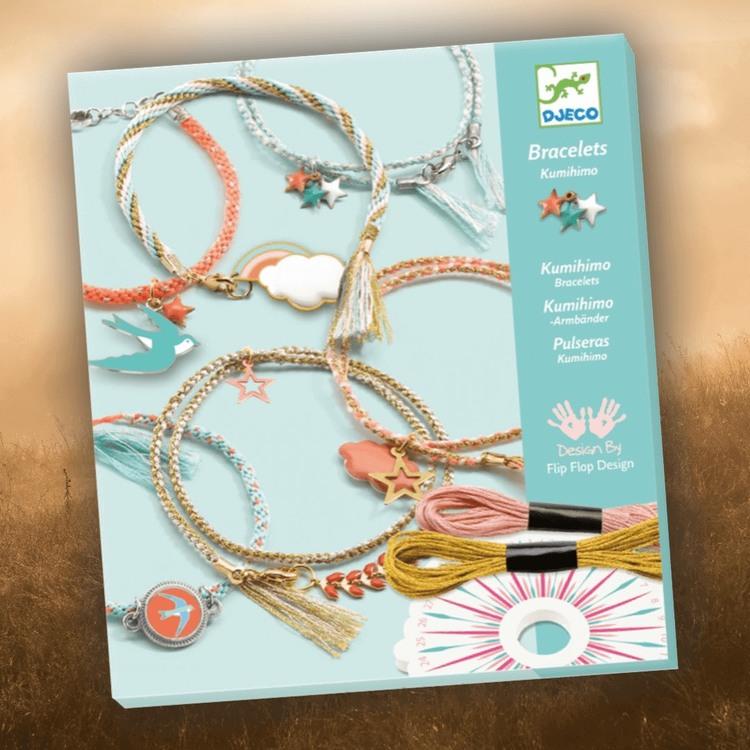 Jewellery, Celeste - Gör egna armband från Djeco