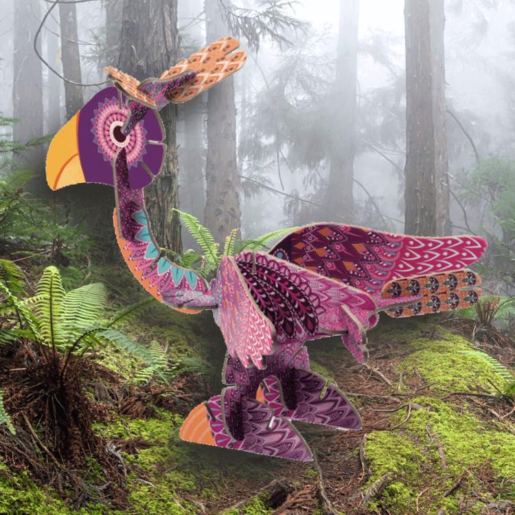 Bygg egna fantasifåglar (Volubo, Birds)