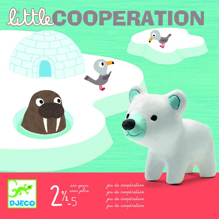 Samarbetsspel för de minsta (Little cooperation) från Djeco
