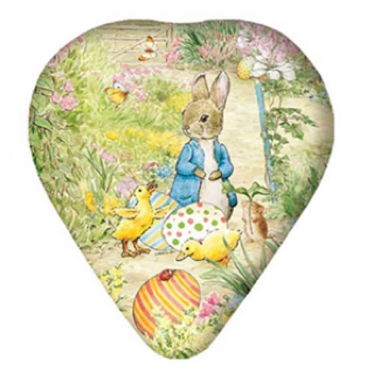 Påskägg Hjärtformade - Beatrix Potter Pelle Kanin - 12 cm