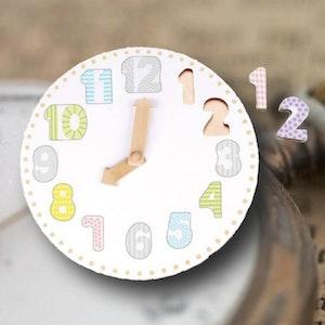 Klocka som pussel (12 bitar) från JaBaDaBaDo