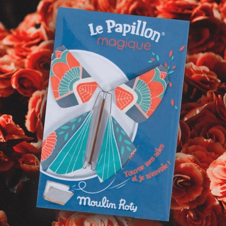 Fladdrande pappersfjäril från Moulin Roty