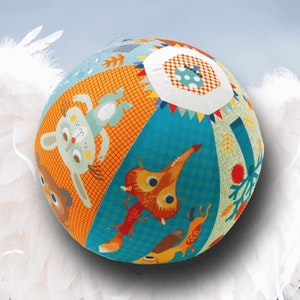 Fjäderlätt boll med ballong - Ballongboll