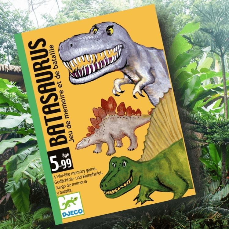 Batasaurus - Den starkaste dinosaurien vinner från Djeco