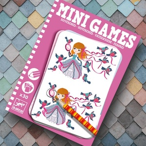 Mini games Differences - Finn 7 fel - Rosa från Djeco