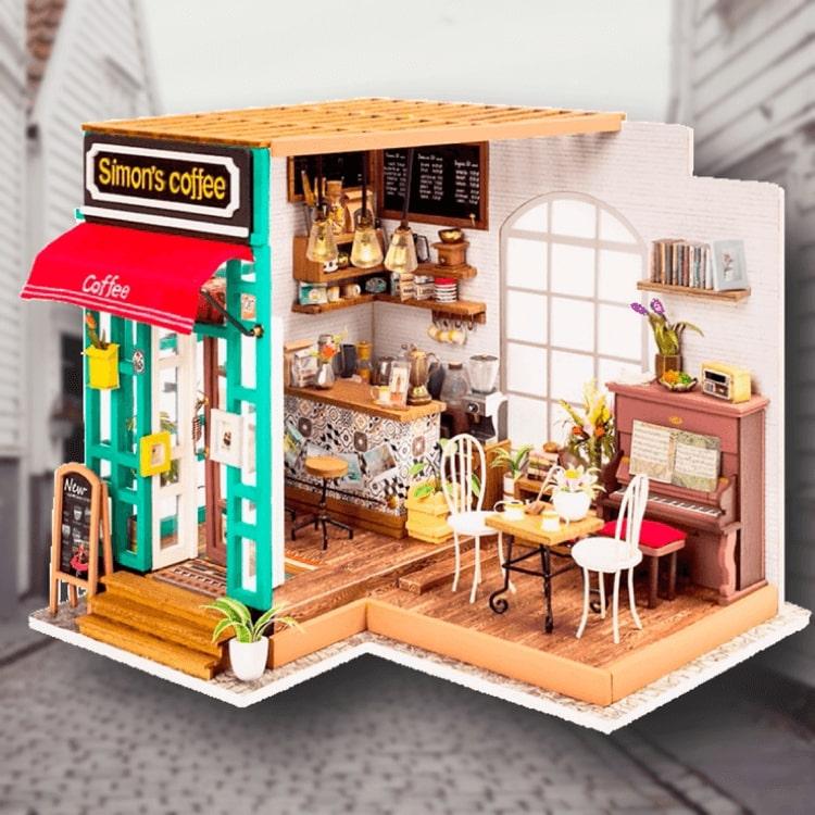 Byggsats - Pyssla ihop ditt eget café