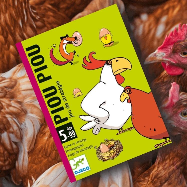 Piou Piou - Panik i hönsgården, rädda äggen från räven!