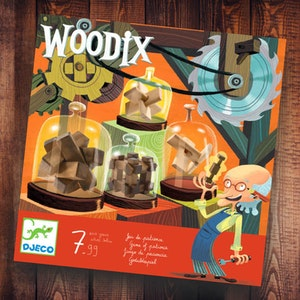 Woodix - tankenötter från Djeco