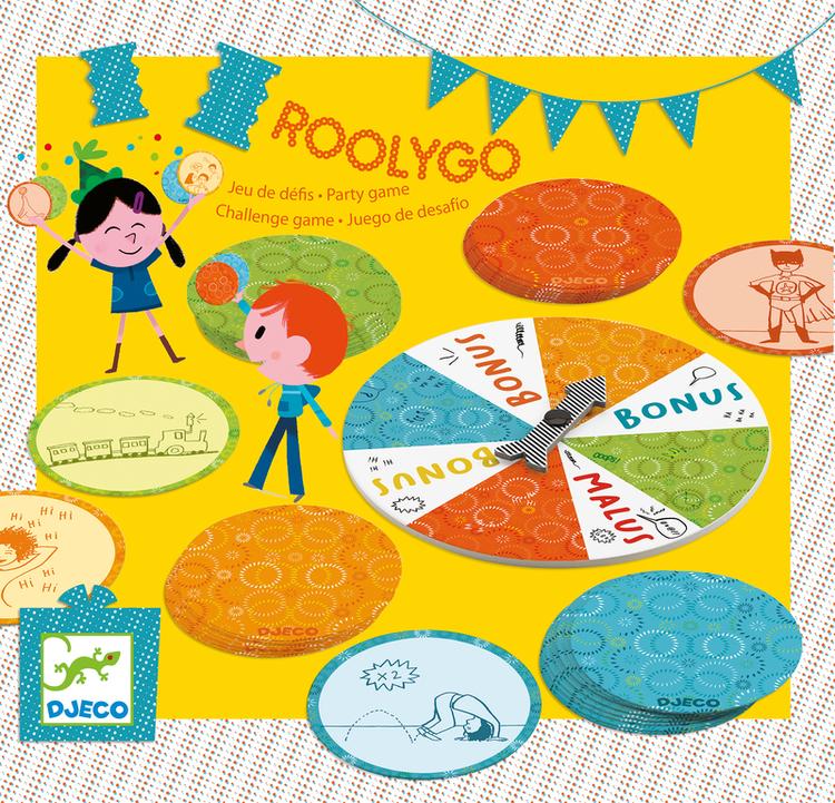 Roolygo, lek till barnkalas från Djeco