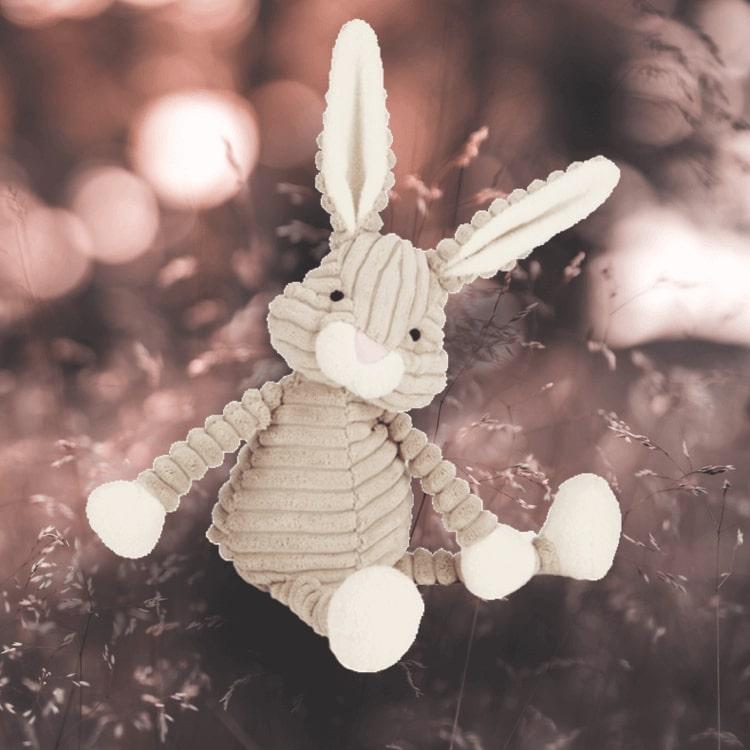 Underbar, mjuk kanin (Cordy Roy Baby Hare) från Jellycat