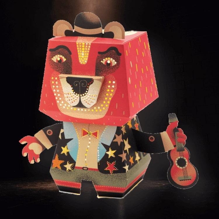 Nattlampa - Känn dig trygg med coola Arty Bear från Djeco