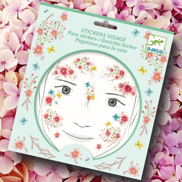 Utsmyckning av ansiktet - Sommarälva (Face stickers) från Djeco
