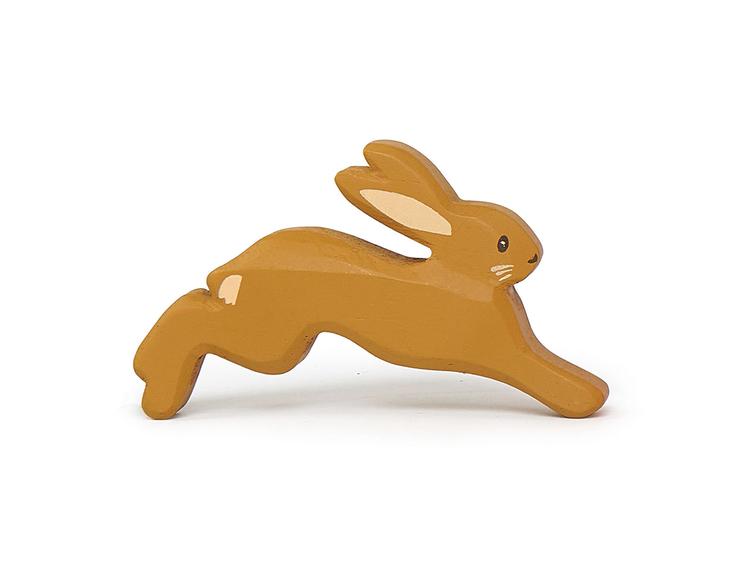 Vacker hare i trä från Tender Leaf Toys