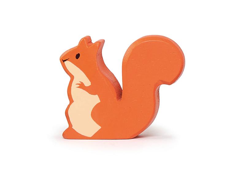 Vacker ekorre i trä från Tender Leaf Toys