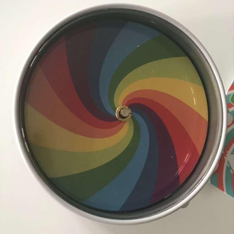 Snurra 'Optisk illusion' från Vilac