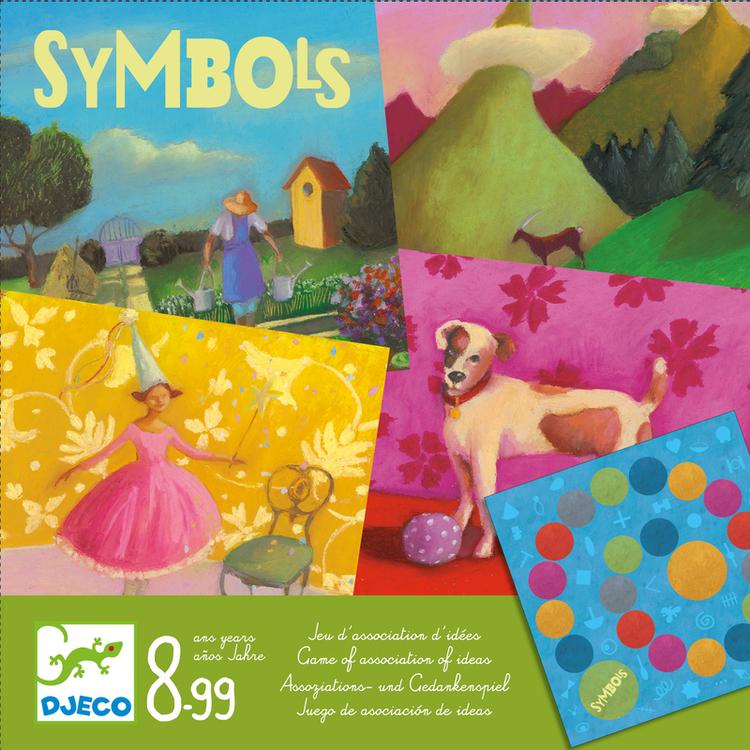 Symbols - Spel med vackra bilder från Djeco