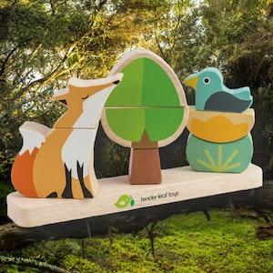 Stapellek 'Räv' magnetisk från Tender Leaf Toys