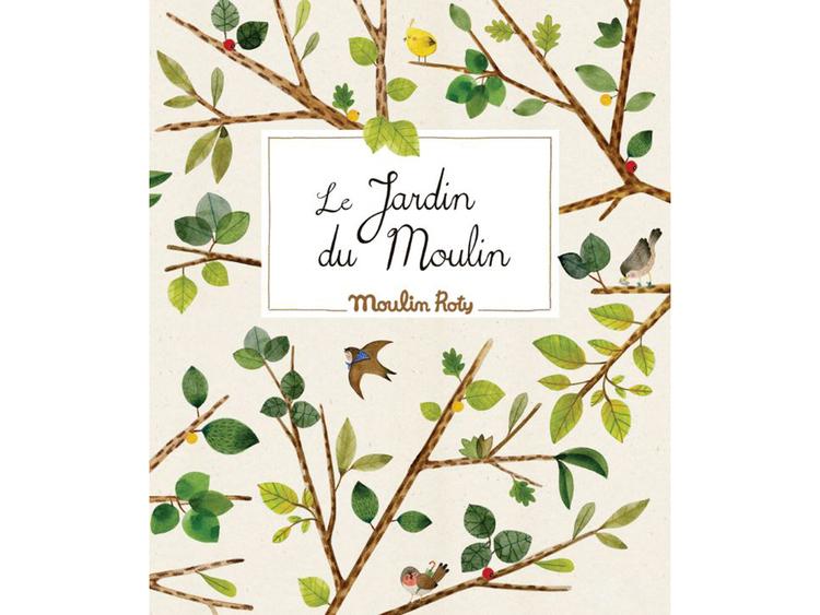 Blomsterpress 'Le Jardin' från Moulin Roty