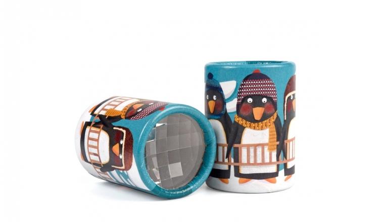 Kalejdoskop mini - Pingviner från Londji