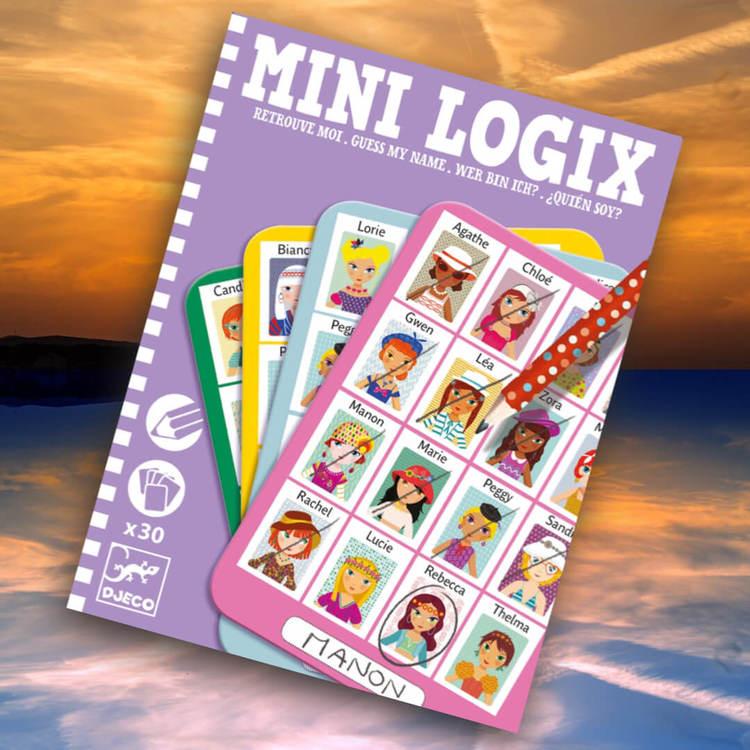 Mini Logix - Gissa mitt namn (Guess my name) - Tjejer från Djeco