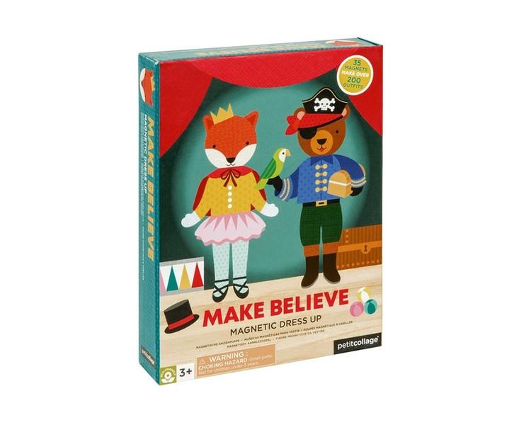 Magnetiska klippdockor - Make believe från Petit Collage