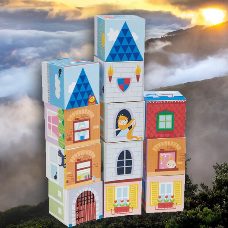 Klossar - Drömhus från Tender Leaf Toys