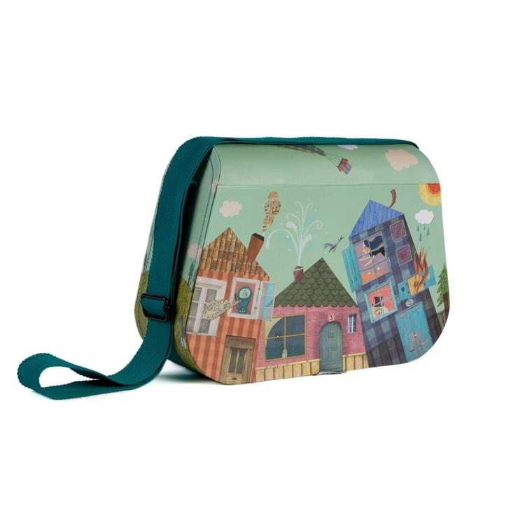 Fin väska för pyssel och leksaker