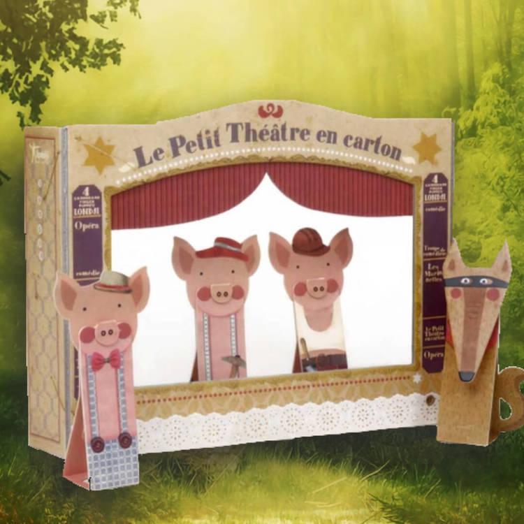 Tre små grisar - Dockteater