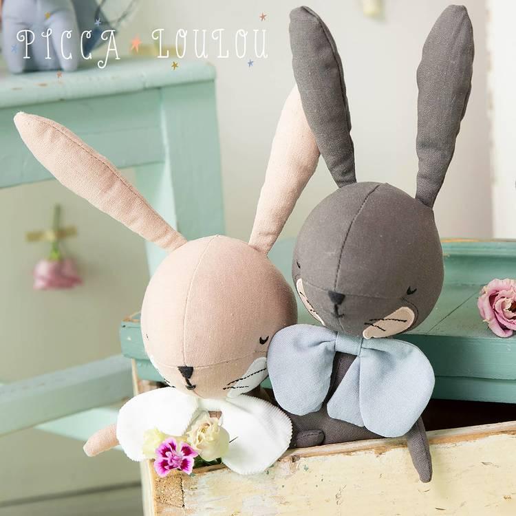 Picca Loulou Rabbit - Mörkgrå