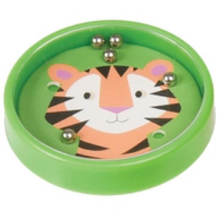 Minispel med vilda djur