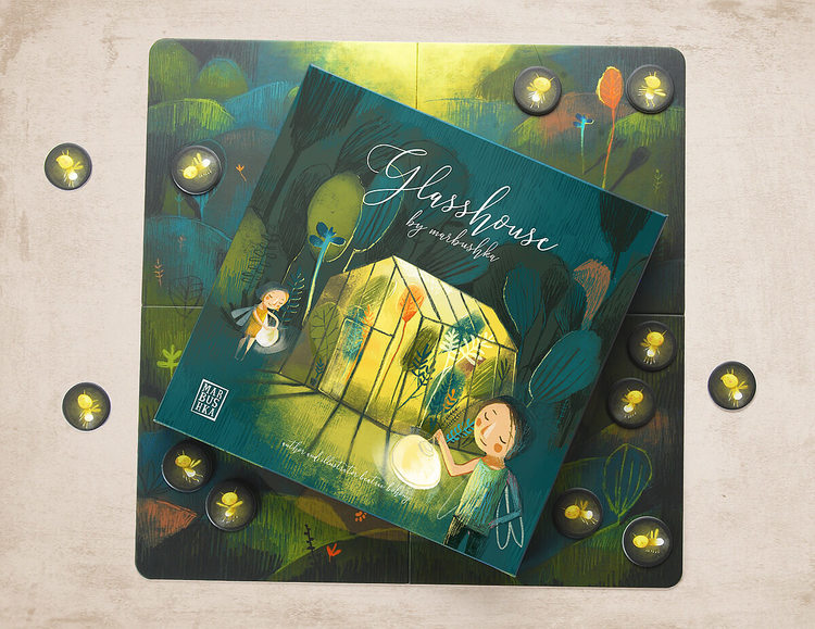 Glashuset - Ett vackert samarbetsspel från Marbushka