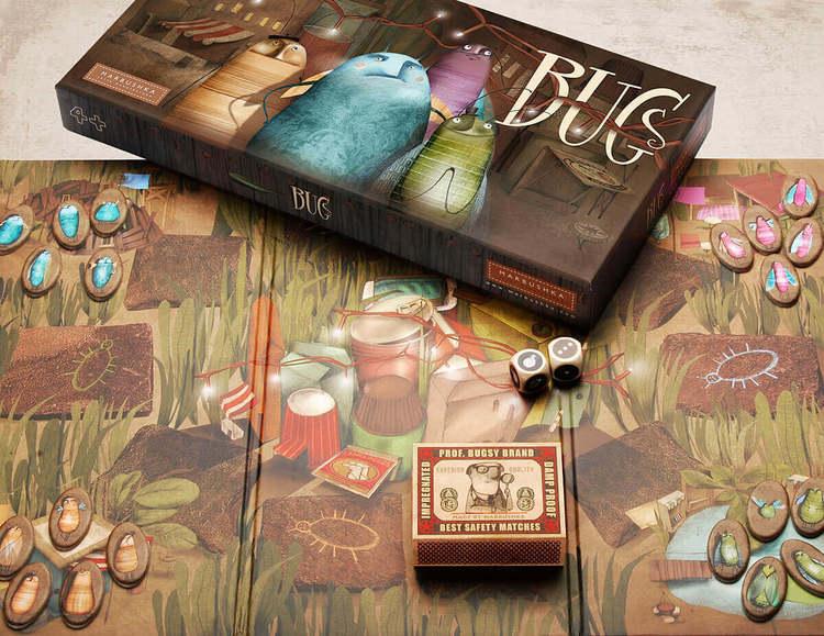 Bugs - Rädda insekterna! spel från Marbushka
