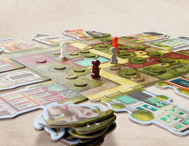 Spel för barn om hundar från Marbushka