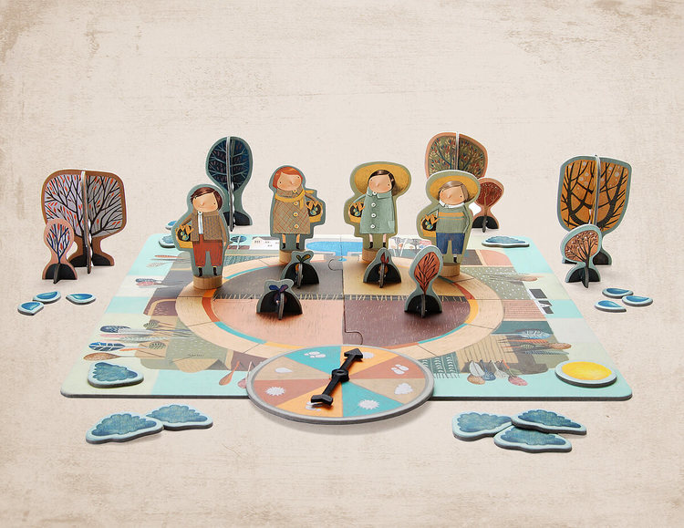 Den underbara trädgården - Ett vackert spel från Marbushka