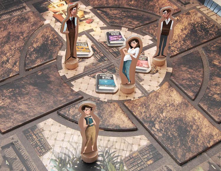 Mysteriet på Biblioteket - Ett spel för hela familjen